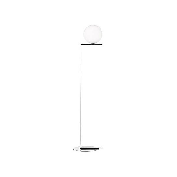 Flos IC Lights F1 lattiavalaisin, kromi